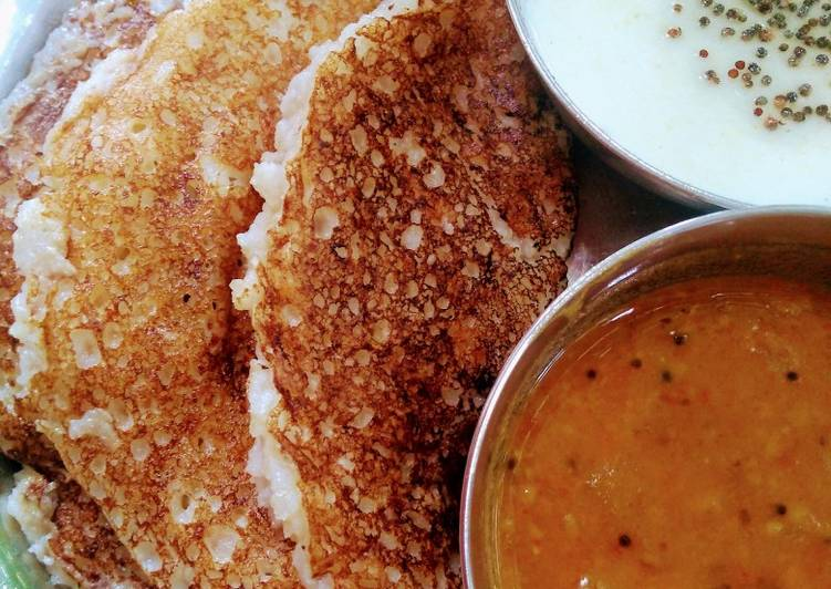 15 Minute Step-by-Step Guide to Make Speedy Broken wheat dosa