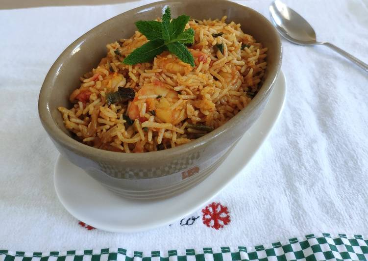 Prawns Biryani Rice