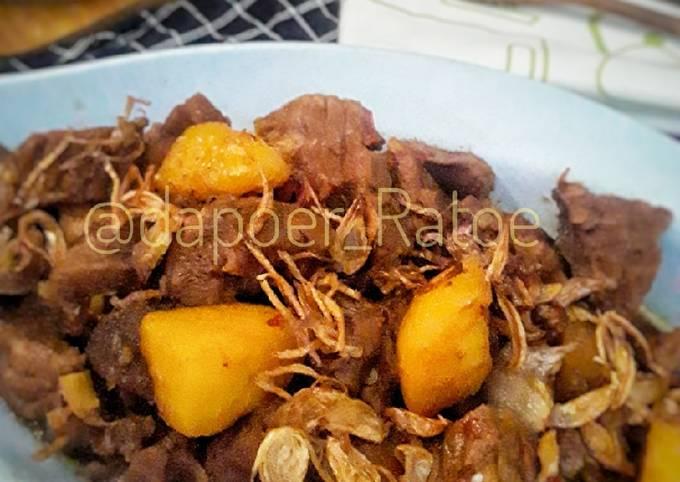 Daging sapi masak kecap - projectfootsteps.org