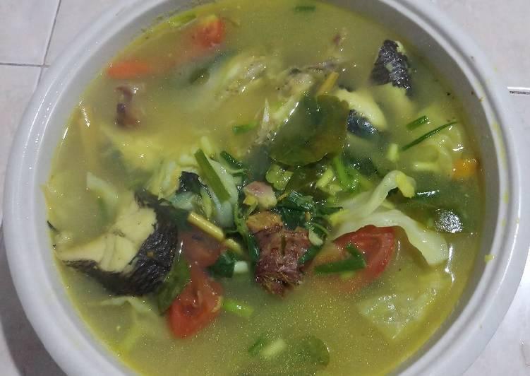 Sup ikan haruan atau gabus favorite
