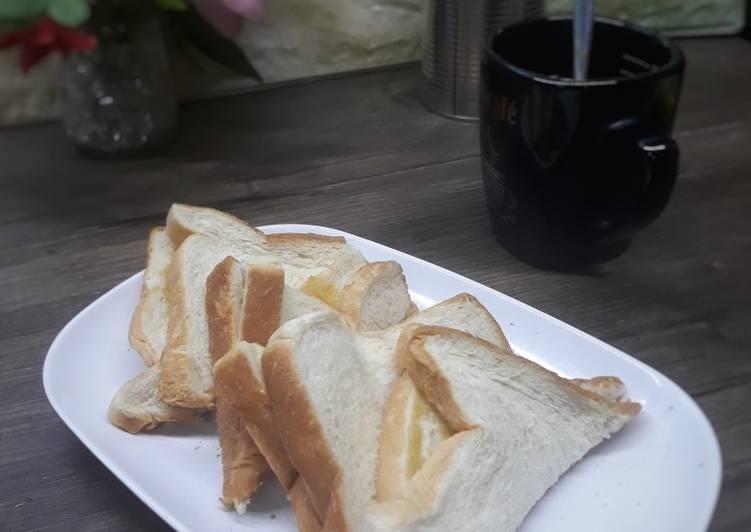 Resepi:  9. Roti Kaya Bakar  Termudah