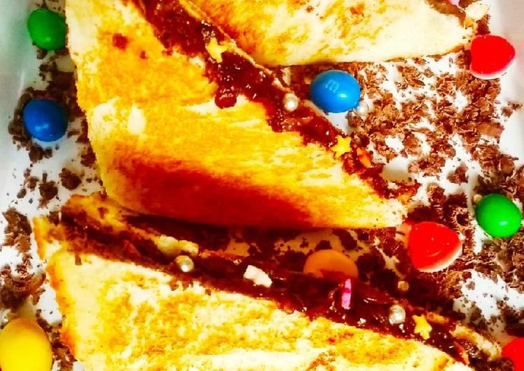 How to Prepare Tasty Chocolate sandwich