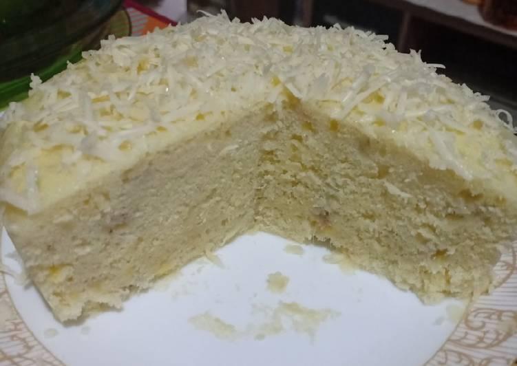 Cake Kukus Pisang Kepok