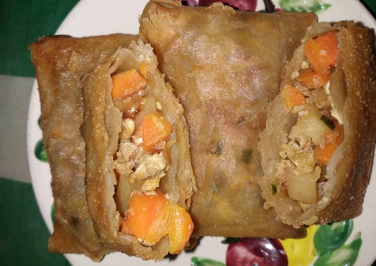 Martabak kentang wortel sederhana