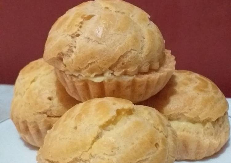 Kulit Kue Soes/Choux Pastry