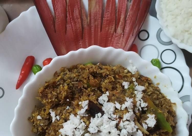 Banana flower ghanto (mocha ghanto)(pure veg)