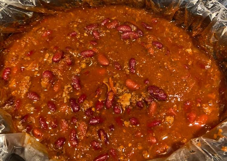 Steps to Prepare Ultimate Damn best chili from scratch