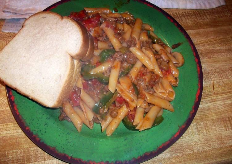 hmark38 Beef Rigatoni Dish