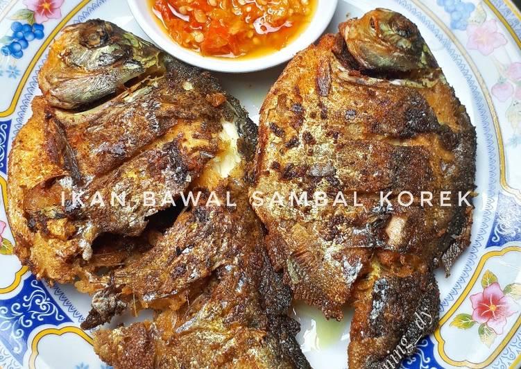 Ikan Bawal Sambal Korek