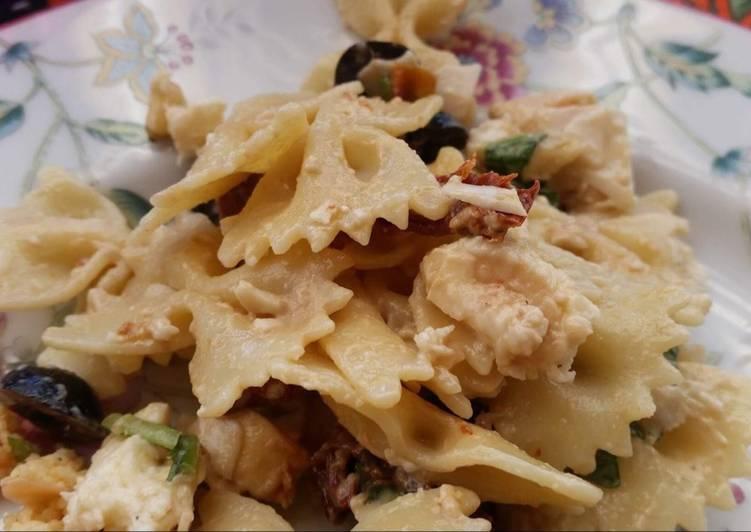 Salade de pâtes italienne (végétarienne)