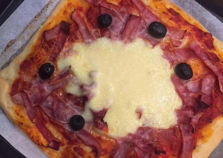 Recette  Pizza facile 🍕