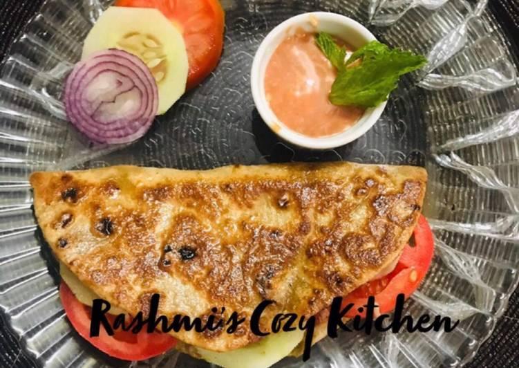 Healthy Chapati Sandwich?