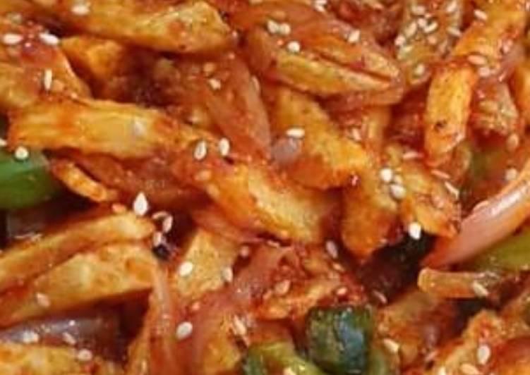 Easiest Way to Make Award-winning Chilli potato
