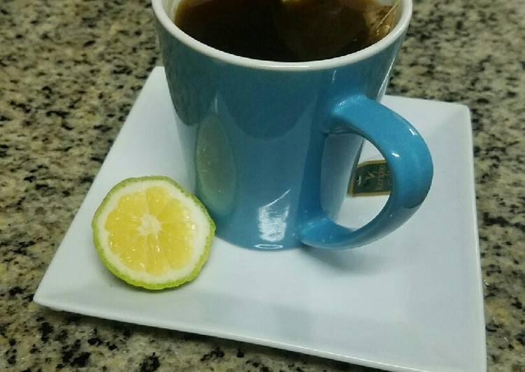 Easiest Way to Make Appetizing English Lemon Tea