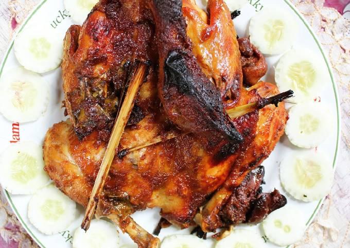 Langkah Mudah untuk Membuat Ayam bakar kalasan, Menggugah Selera