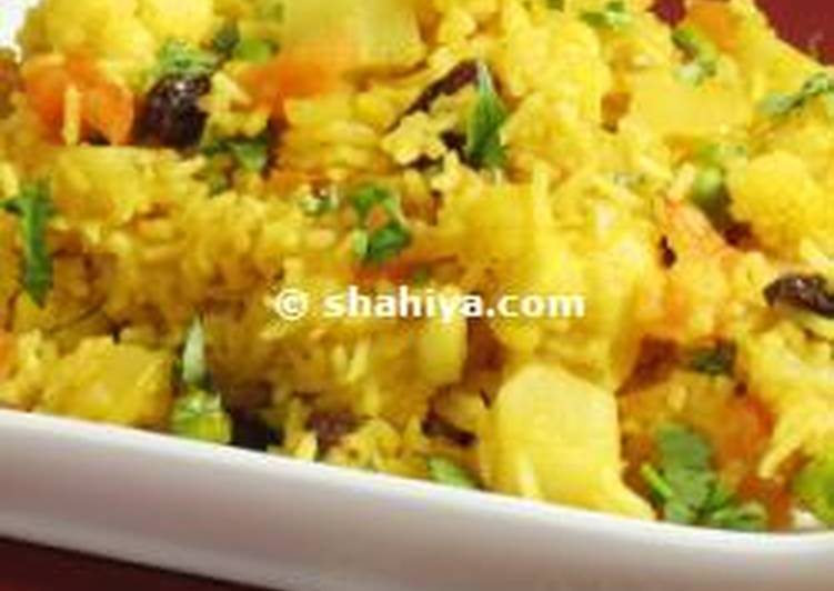 My Husband's Favourite Vegetable Biryani