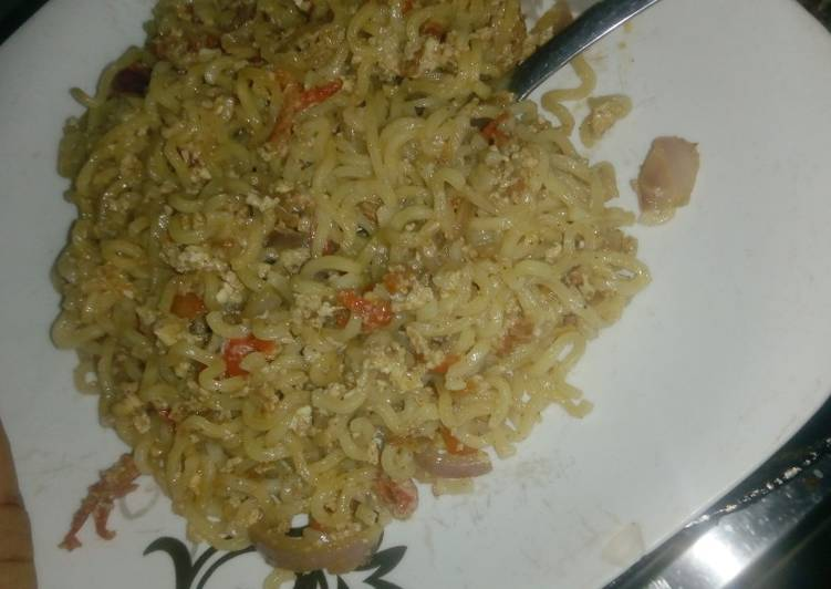 Egg sauce Indomie