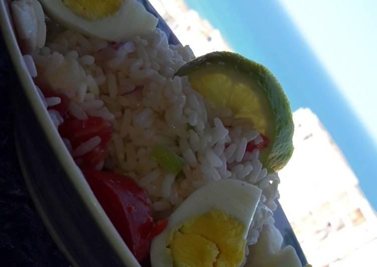 La Délicieuse Recette du Salad de riz