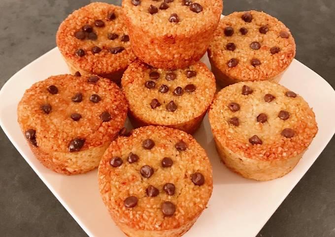 Muffins healthy à la noix de coco