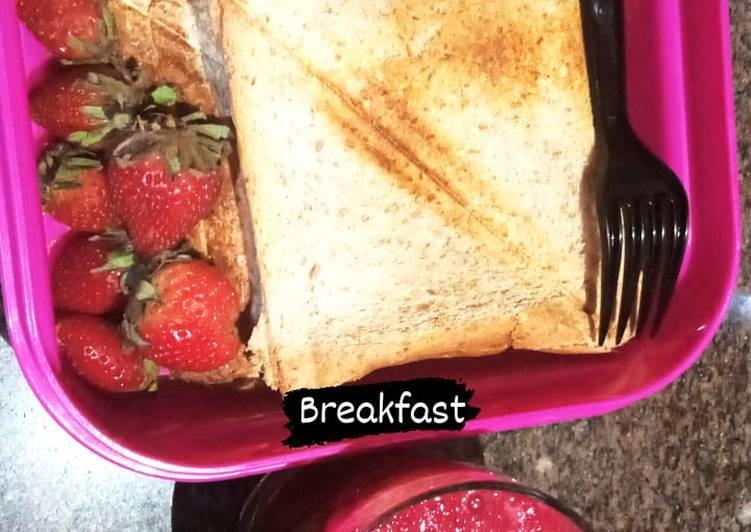 Breakfast #beet-carrot smoothie