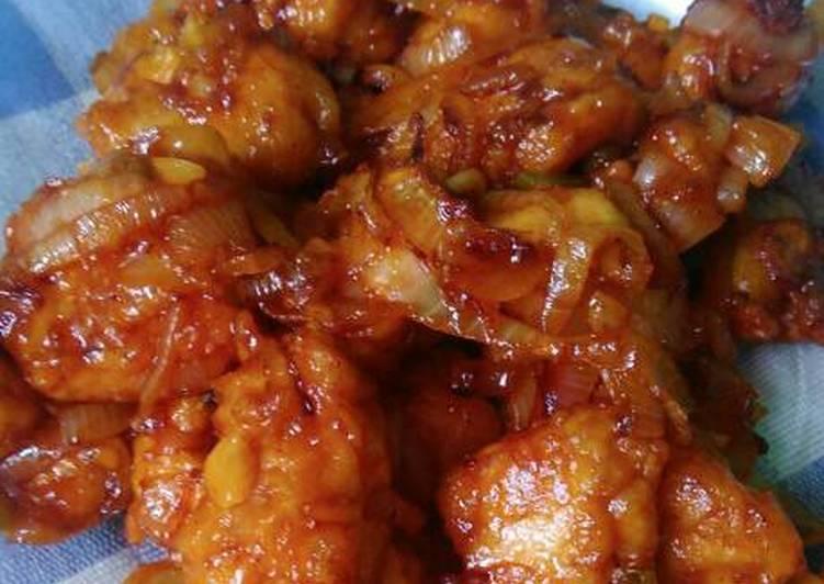 Resep Ayam Tepung Pedas Asam Manis Bisa Manjain Lidah Kreasi Masakan