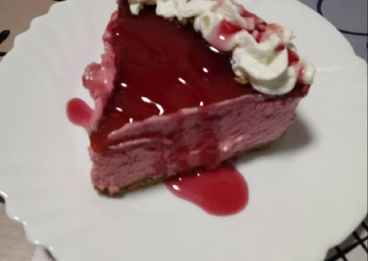 Tarta de fresa fácil y rápida