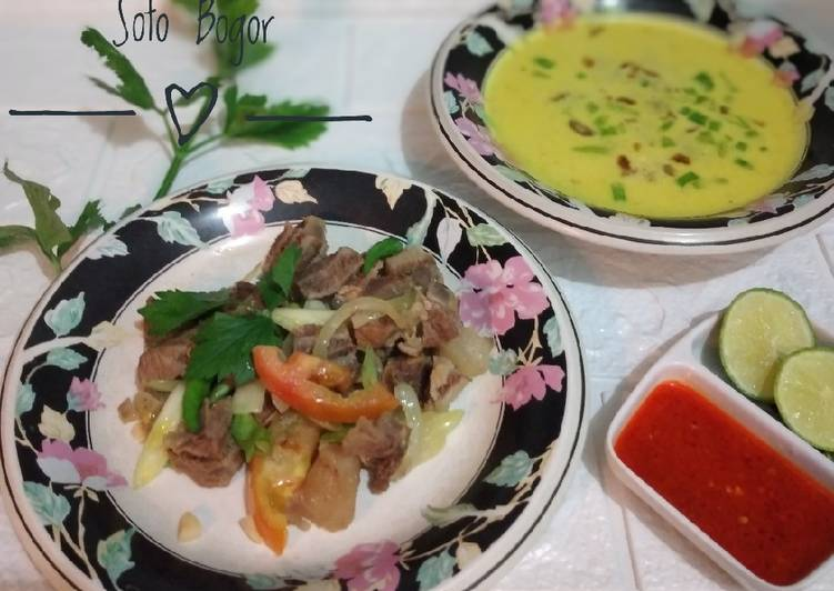 243. Daging Oseng ala Soto Bogor Rahayu