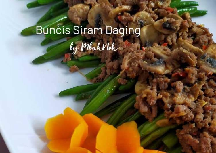 Buncis Siram Daging