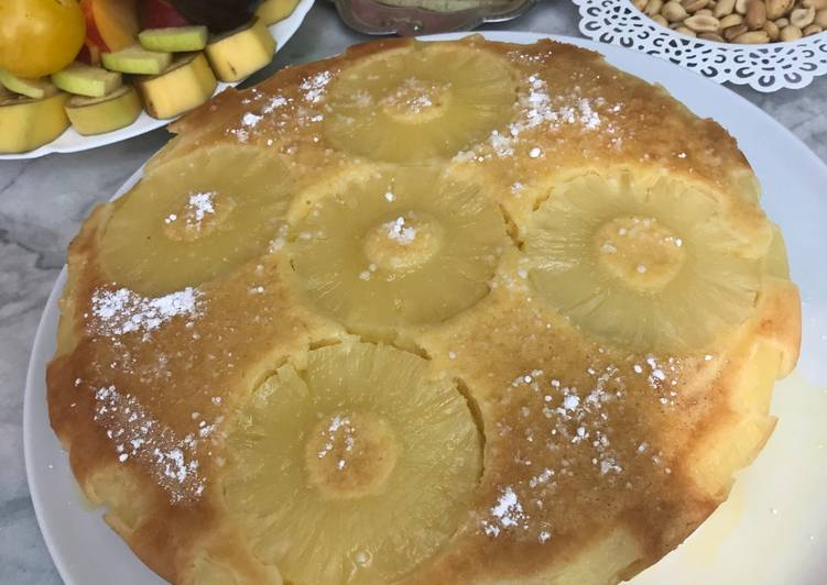 Comment faire Faire Parfait Gâteau a l'ananas