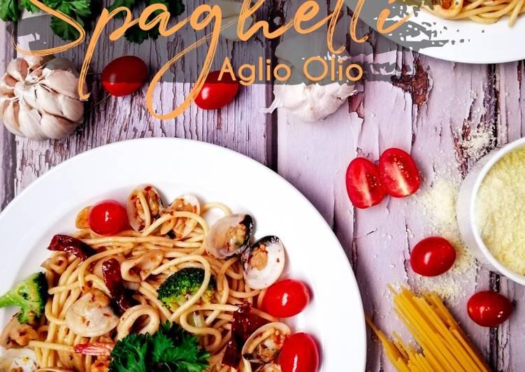 Spaghetti Aglio Olio #phopbylinimohd #batch18