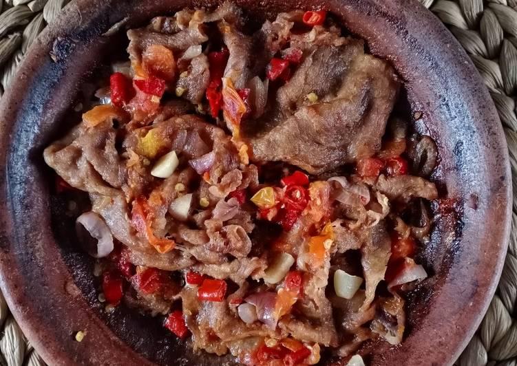 Beef Sambal Gami