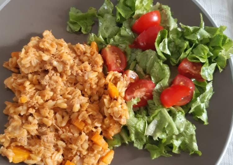 Recipe: Tasty Ebly au thon au cookeo