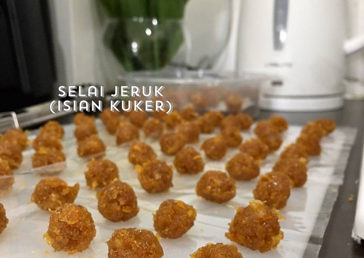 Selai jeruk isi kuker