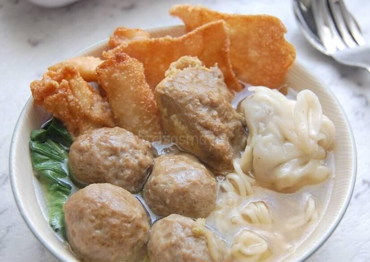 Resep Bakso Malang oleh Fitri Sasmaya - Cookpad
