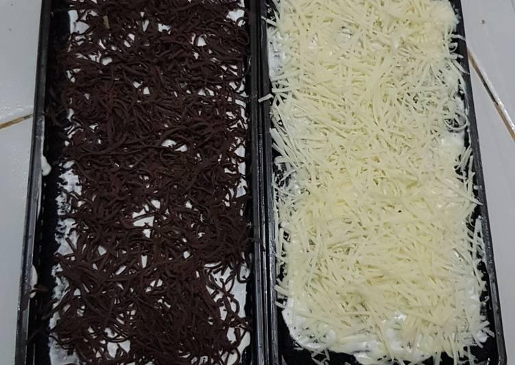 Brownis black anggel coklat keju