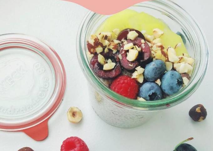Easiest ever chia pudding