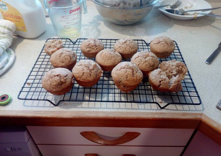 Easiest Way to Prepare Perfect Banana & Cinnamon Muffins