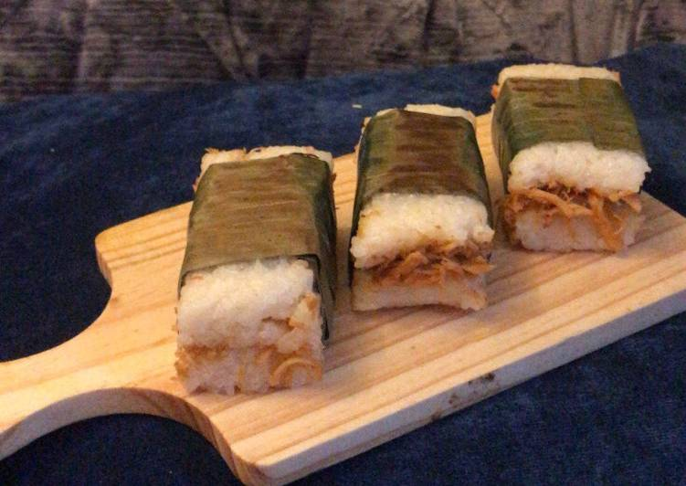 Recipe of Any-night-of-the-week Chicken/Tuna Lemper