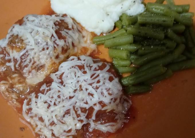 Italian Meatloaf Patties