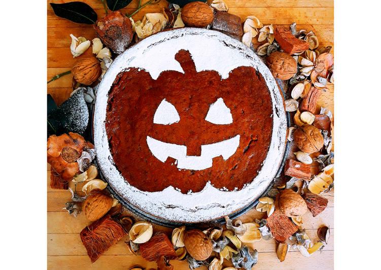 Ricetta Torta di Halloween Zucca e Carote