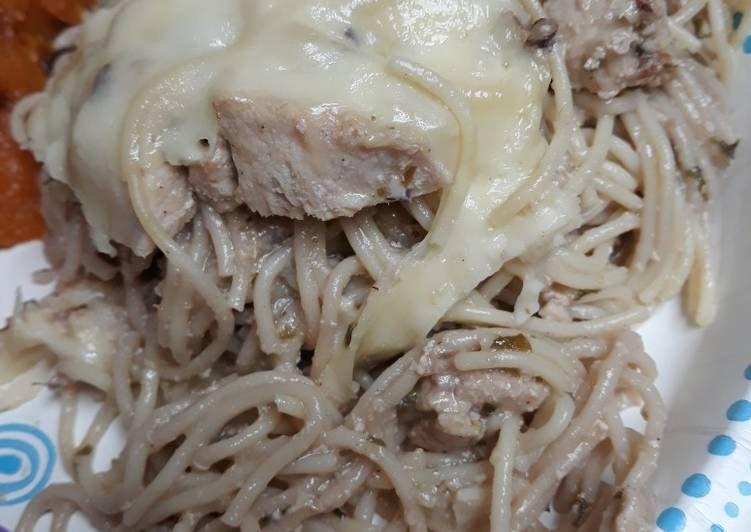 Steps to Make Award-winning Nut and Chicken Spaghetti