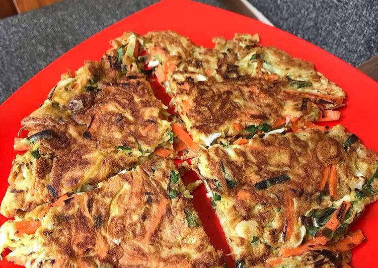 Omelette sayur