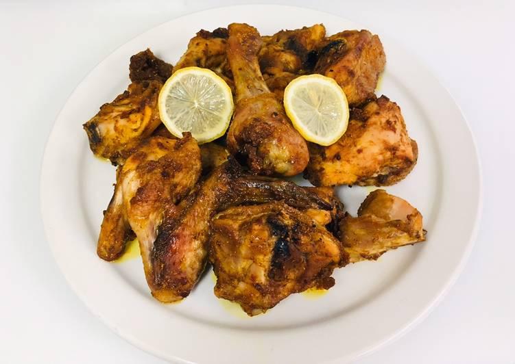 Ayam Panggang Bumbu Kari