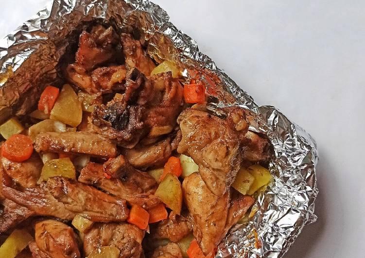 Ayam Panggang Sayuran - cookandrecipe.com