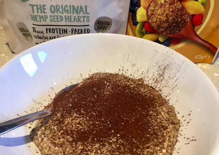 Easiest Way to Prepare Homemade No Oat Chocolate Protein 'Porridge'