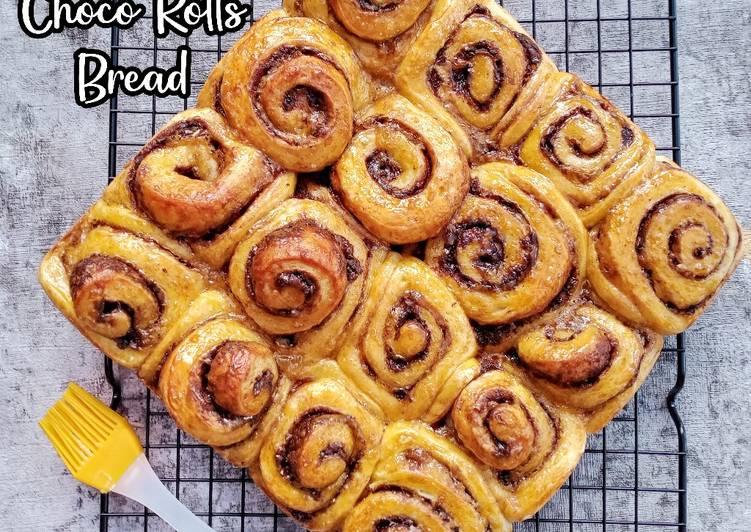 Cinnamon Choco Rolls Bread
