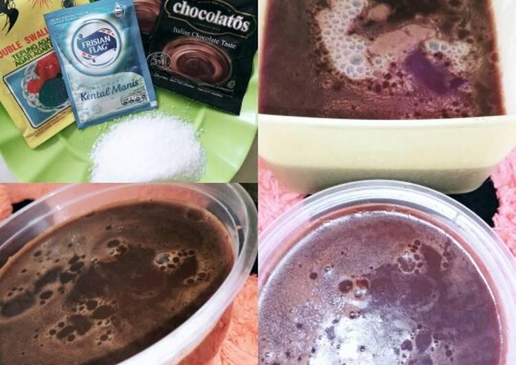 Puding chocolatos