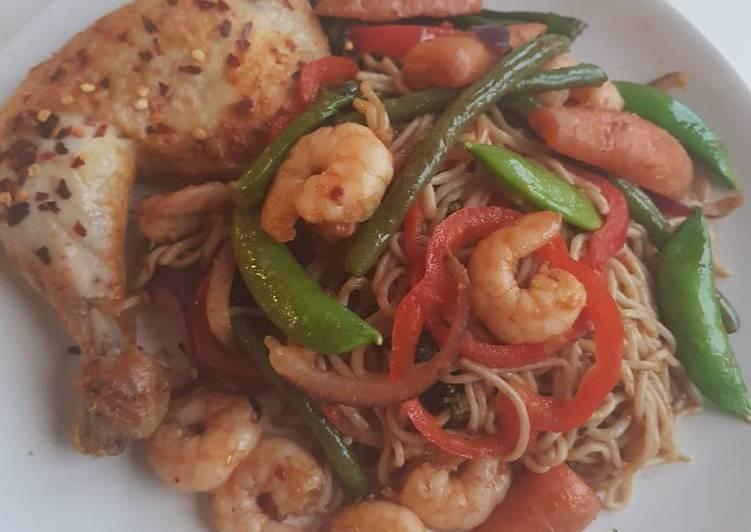Stir-fried zero noodles
