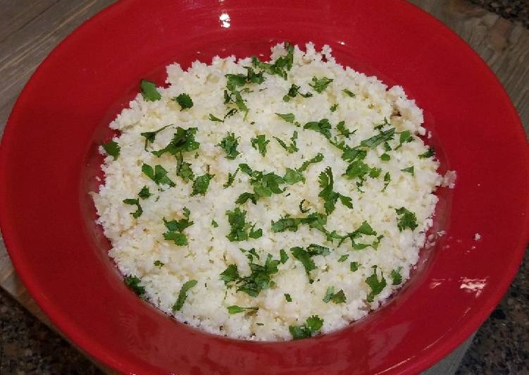 15 Minute Easiest Way to Make Diet Perfect Healthy Cauliflower Rice