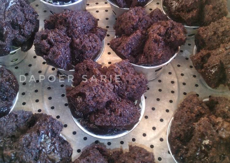 Bolu Kukus Coklat (Tanpa Telur & Mixer)